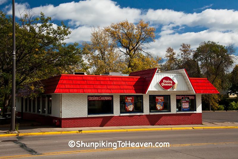 Old Fashioned Dairy Queen Restaurant, New Richmond, Wisconsin