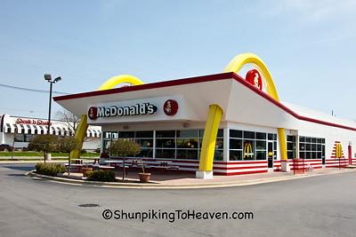 Old Fashioned McDonald's Restaurant, Danville, Illinois