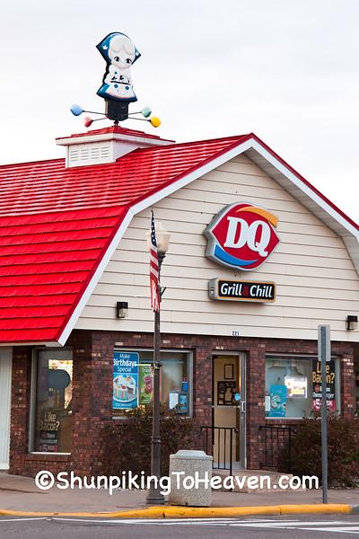 Dairy Queen with Little Miss Dairy Queen, Polk County, Wisconsin