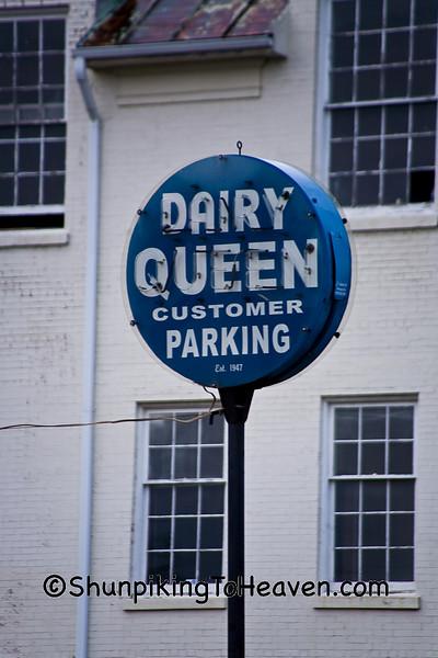Antique Dairy Queen Sign, Clinton County, Ohio