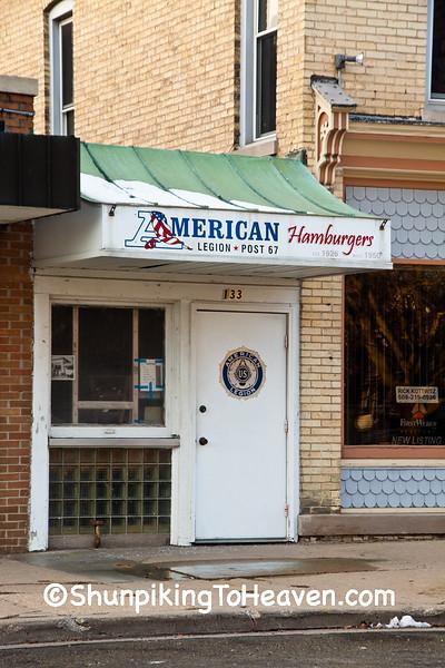 American Legion Hamburger Stand, Lake Mills, Wisconsin
