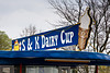 S & K Dairy Cup, Highland County, Ohio