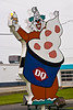 Dairy Queen Curly the Clown, Shelbyville, Indiana