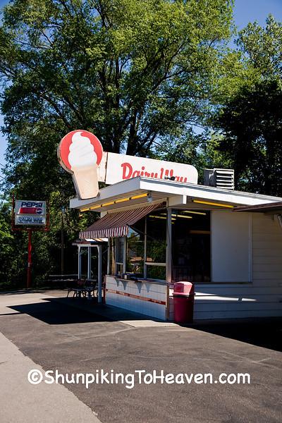 Dairy Way Ice Cream Stand, Black River Falls, Wisconsin