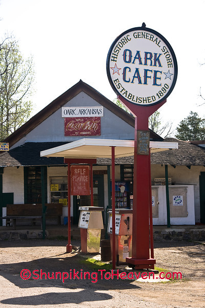 Oark Cafe and General Store, 1890, Johnson County, Arkansas