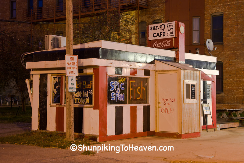 SuzieQ's Cafe, Mason City, Iowa