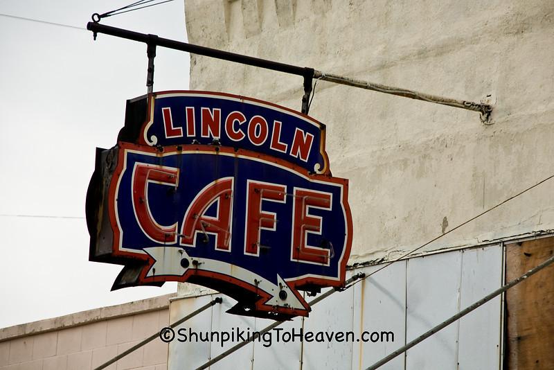 Lincoln Cafe, Belle Plaine, Iowa