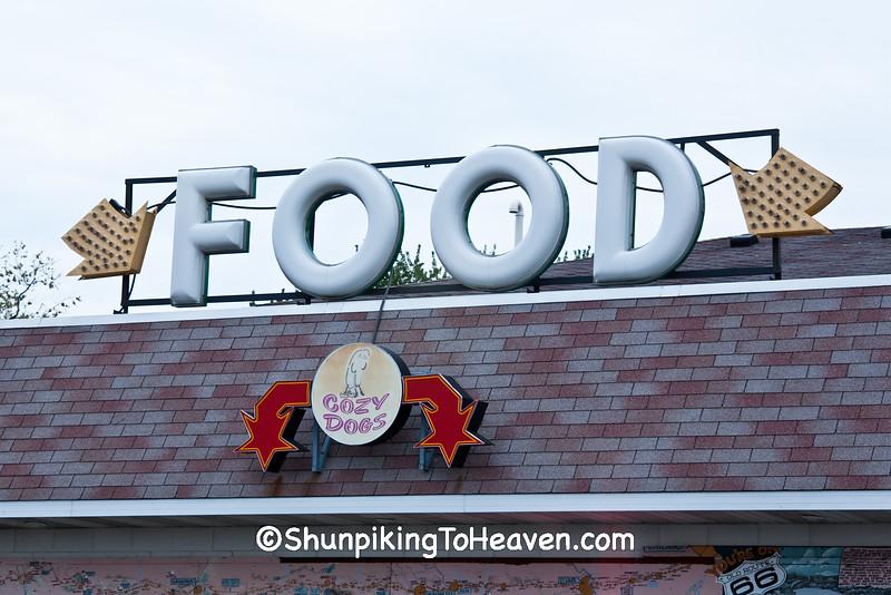 Cozy Drive-in, Route 66, Springfield, Illinois