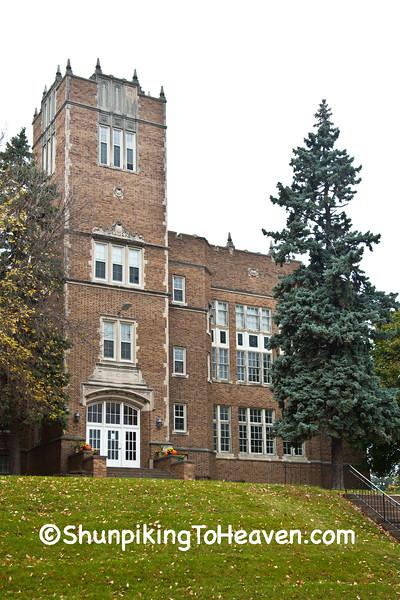 Old Jefferson High School, Jefferson, Wisconsin