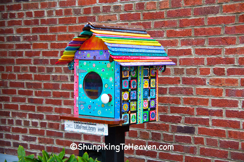 Little Free Library, Mineral Point, Wisconsin