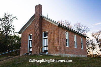 Red Brick School, Washington County, Iowa
