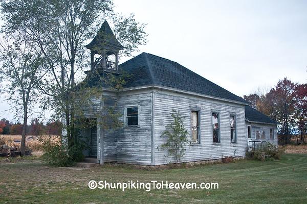 Orange Mill School, Juneau County, Wisconsin