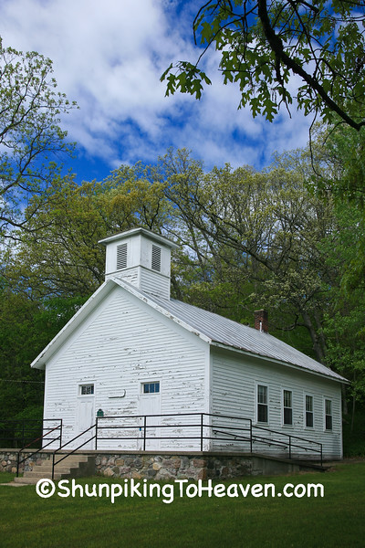 Fallasburg Schoolhouse, Kent County, Michigan
