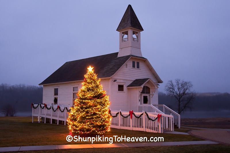 Christmas at Fair Valley School, Sauk City, Wisconsin