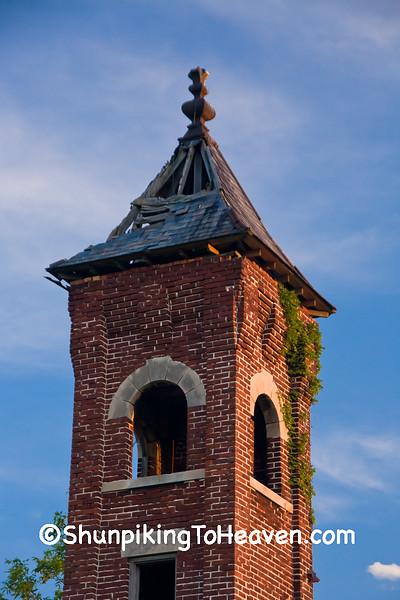 Ruins of Oak Grove School, Jay County, Indiana