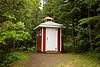 Outhouse at Larsmont School, Lake County, Minnesota