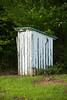 Outhouse at McCray School, Alamance County, North Carolina