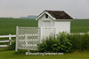 Outhouse at Antioch School, Jones County, Iowa