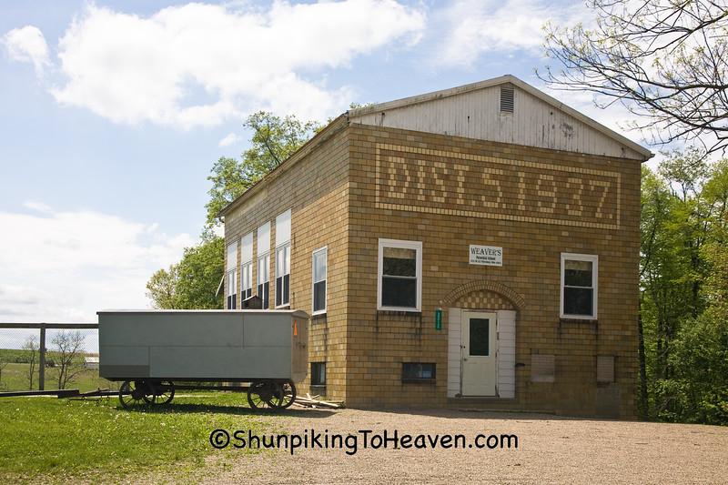 Weaver's School, Holmes County, Ohio