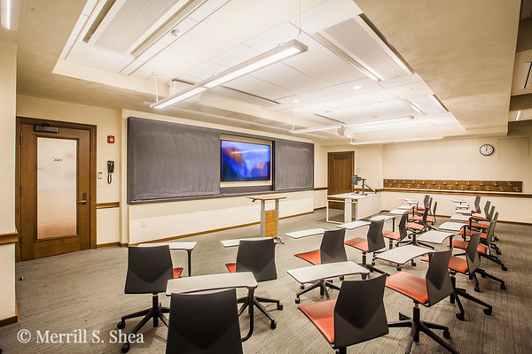 Wellesley College Founders Hall Classroom Renovations