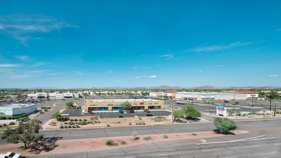Elevated Panoramic Mast Photograph 7th Ave & Bell, Phoenix AZ