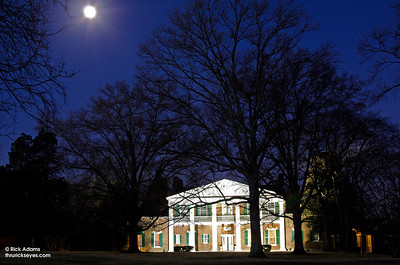 Moon over the Mansion