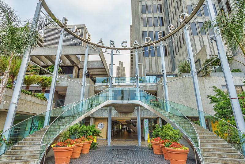 Entrance to Embarcadero Center