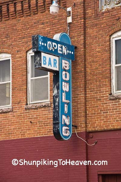 Bowling Alley, Rock Rapids, Iowa