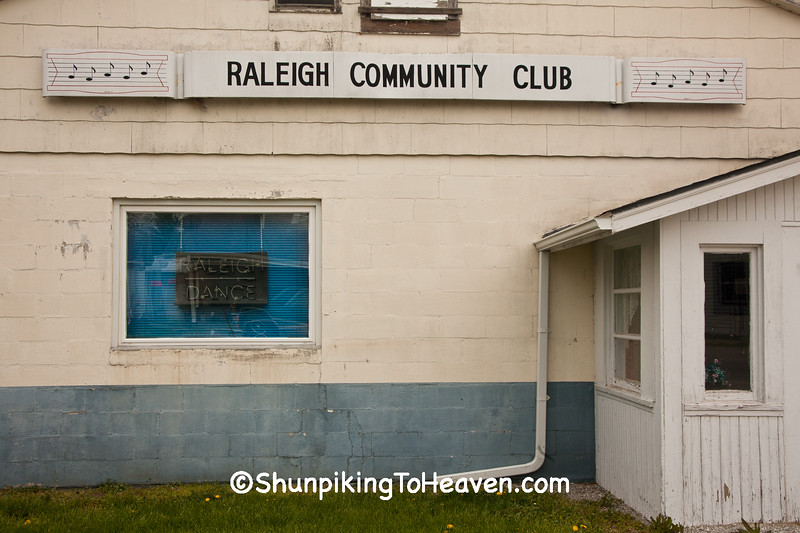 Community Club and Dance Hall, Raleigh, Indiana