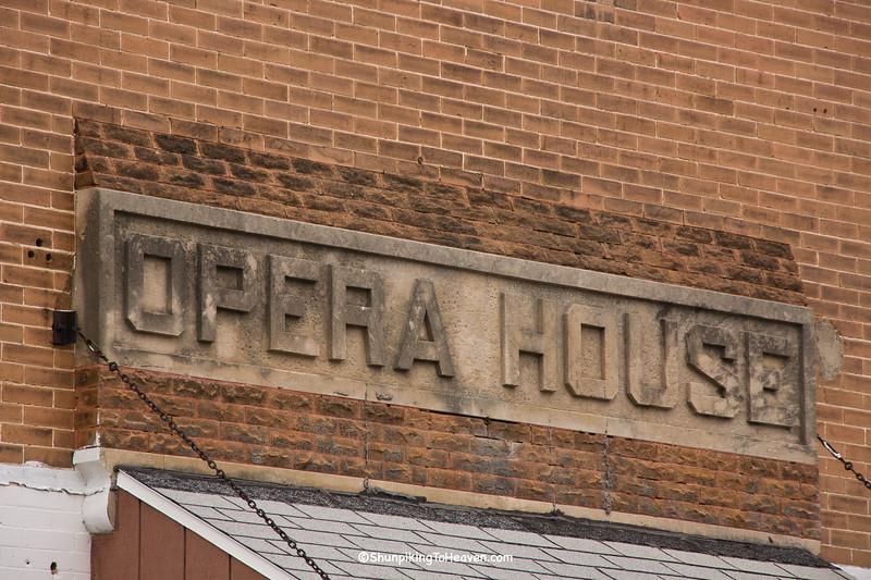Woodman Opera House, Plainfield, Wisconsin