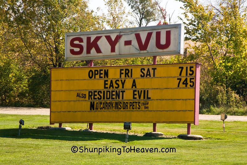 Sky-Vu Outdoor Theater, Green County, Wisconsin