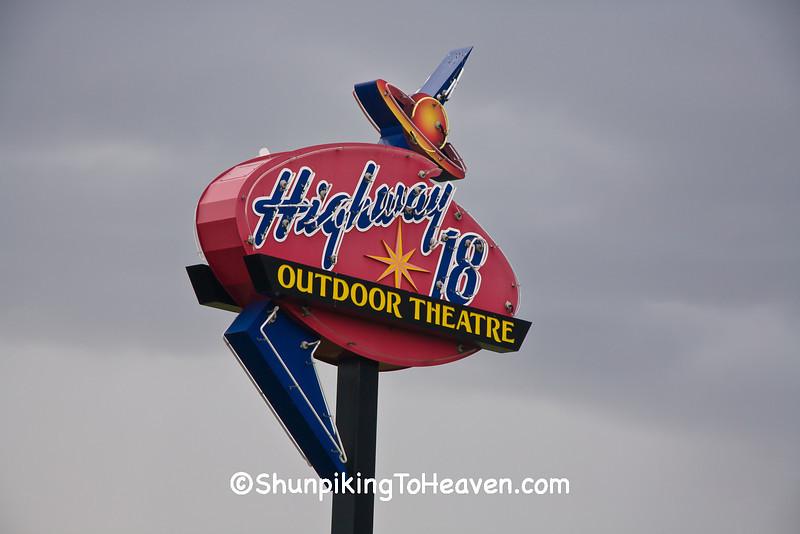Highway 18 Outdoor Theatre, Jefferson County, Wisconsin