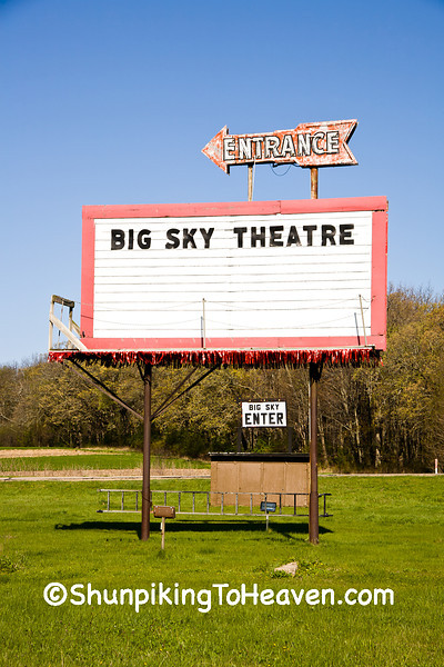 Big Sky Theater, Columbia County, Wisconsin