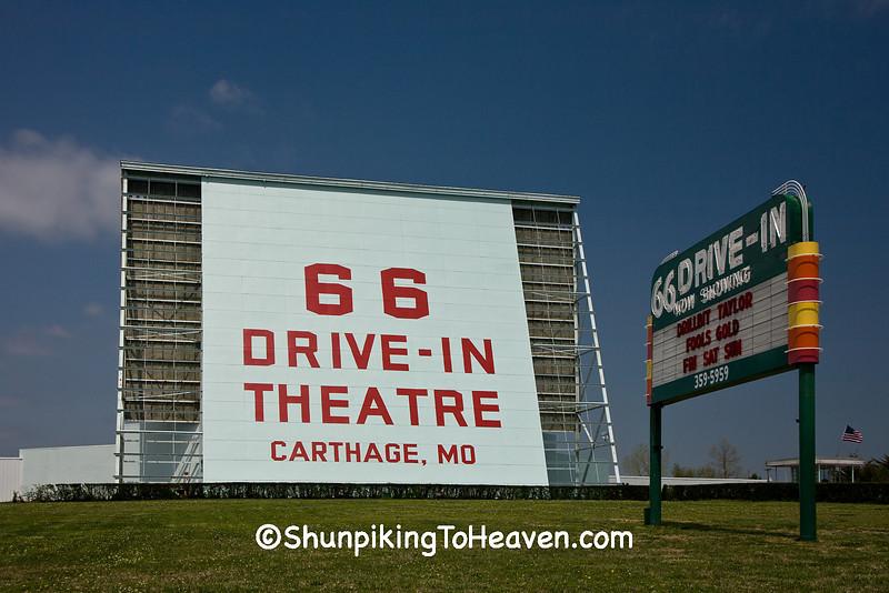 66 Drive-In Theatre, Carthage Missouri