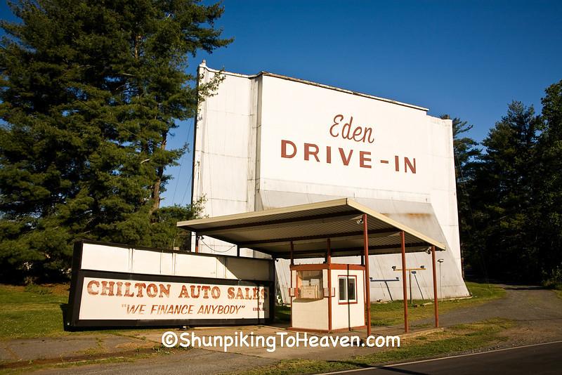 Eden Drive-In Theater, Rockingham County, North Carolina