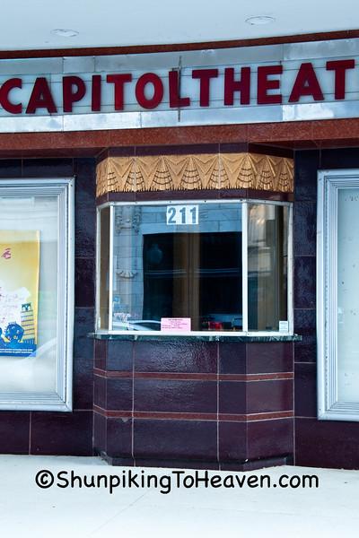 Ticket Booth of Capitol Theater, Burlington, Iowa