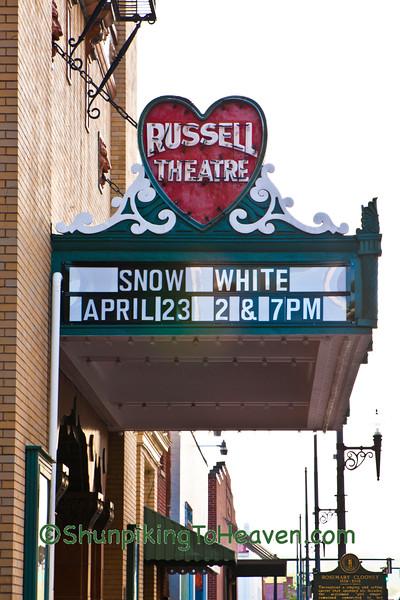 The Russell Theatre, Maysville, Kentucky