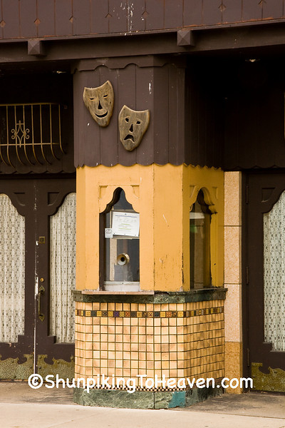 Ticket Booth at Goetz Theatre, Monroe, Green County, Wisconsin