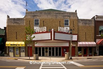 Hub Theater, Rochelle, Illinois
