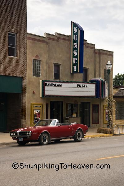 Sunset Theatre, Sumner, Bremer County, Iowa