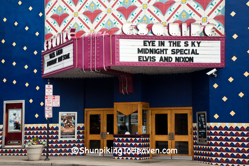 Esquire Theatre and Ticket Booth, Cincinnati, Ohio