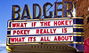 Humor at the Badger Theater, Built 1924, Sauk County, Wisconsin
