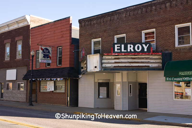 Elroy Theater, Juneau County, Wisconsin