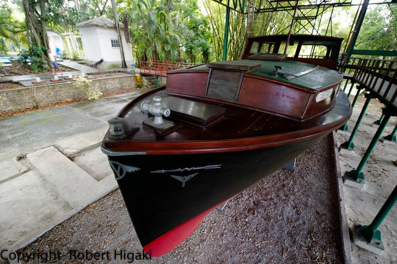 Hemingway's boat- Pilar