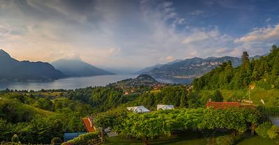 Lake Como. Bellagio, Italy