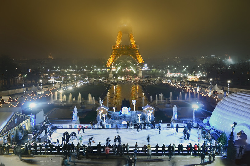 Paris at Christmas.