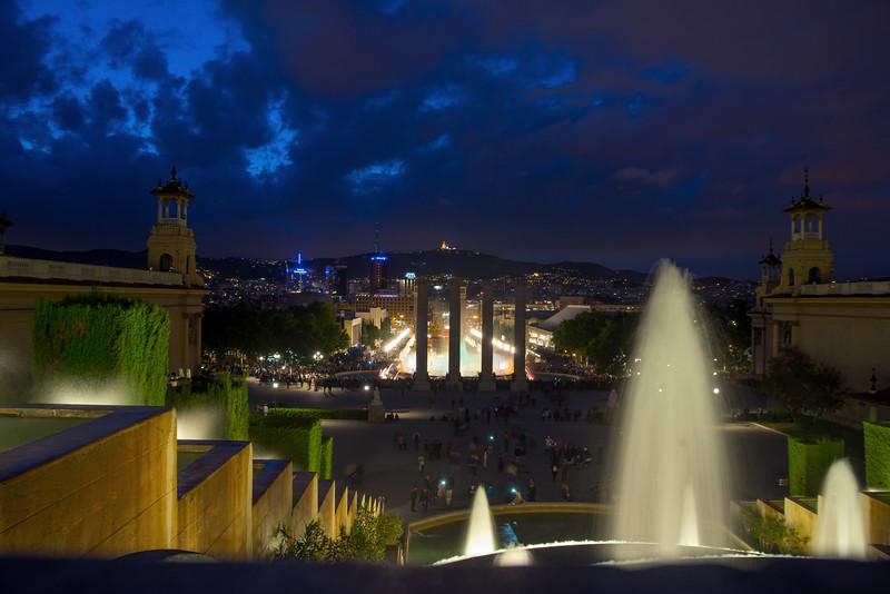 Montjuïc's Fountains, Barcelona