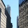 Walking along Broadway downtown