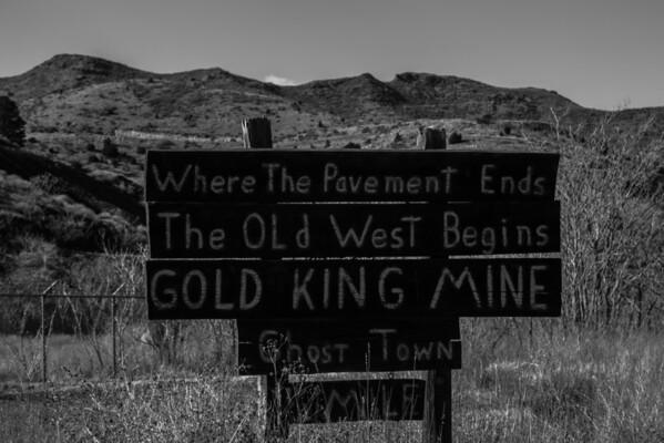 Expose of Arizona Ghost Town
