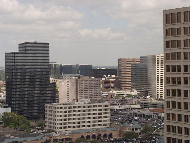 Galleria area skyline -Houston